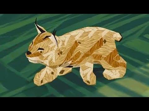 СИМУЛЯТОР ДИКОЙ КОШКИ #18 Кид стал маленьким котенком рысью - виртуальный питомец #ПУРУМЧАТА