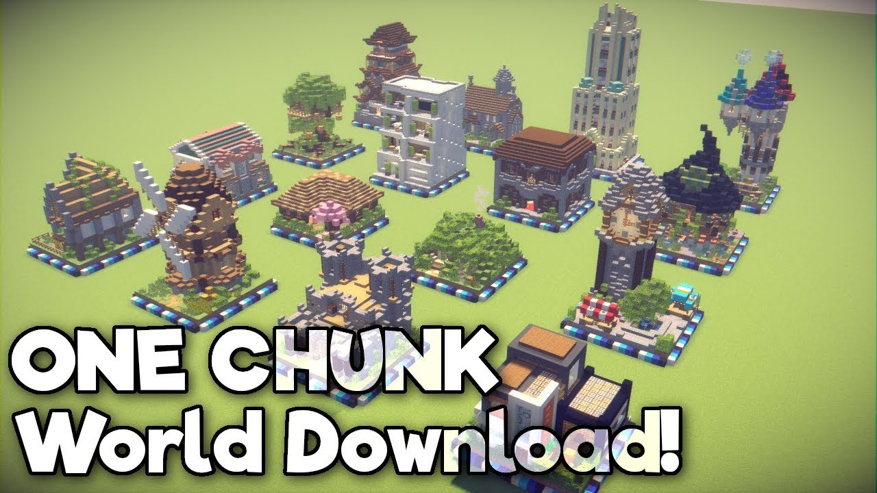 Minecraft one chunk builds world download 112 youtube minecraft one chunk builds world download 112 gumiabroncs Gallery