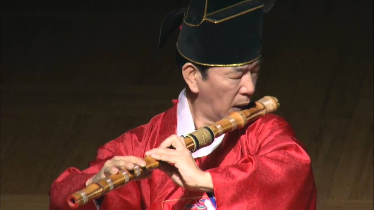 Daegeum A Traditional Korean Flute From 681 Ad Folkchip