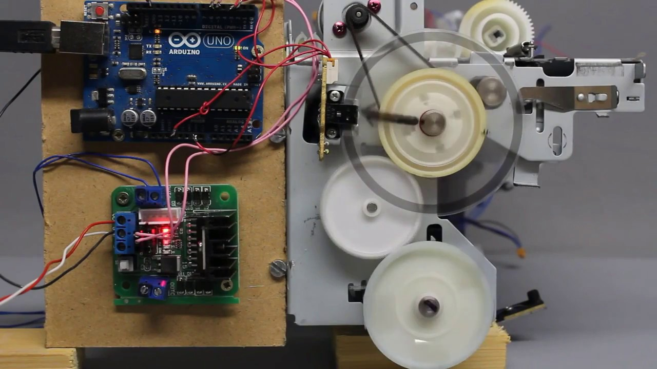 Convert The Dc Motor To Stepper Or Servo Project Atmega16 X Y Z Control Circuit Cnc Devresi