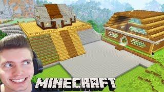 Minecraft: VOU CONSTRUIR uma MINI CIDADE!!! - Sobrevivendo com Lipão #28