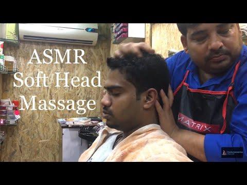 Best Indian Head Massage Soft Massage Deep Tissue Massage ASMR