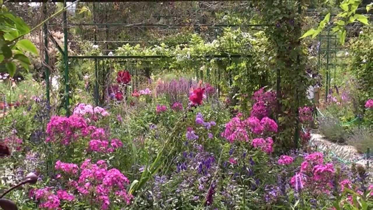 Visite des Jardins de Claude Monet  Jardin et Nymphas  YouTube