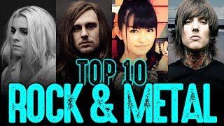 TOP 10: BANDAS FAVORITAS DE ROCK Y METAL