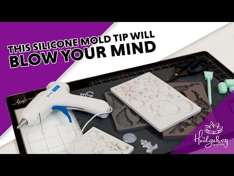 This Silicone Mold Tip Will Blow Your Mind - No more kneading or breaking hard paper clay