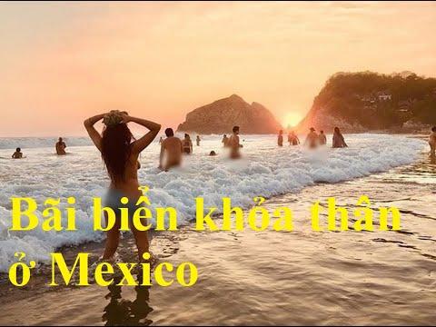 Bãi biển khỏa thân Mexico