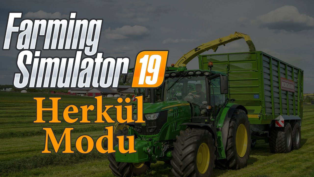 Farming Simulator 19 - Herkül Modu (Herşeyi Elinizle Kaldırabilirsiniz)