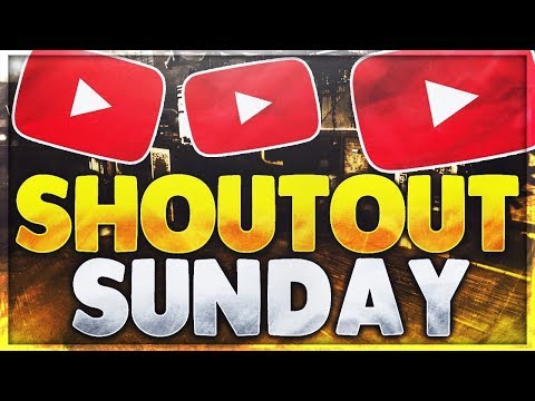 SHOUTOUT SUNDAY 14 ***MUST WATCH*** - Gain Active Subs and Views