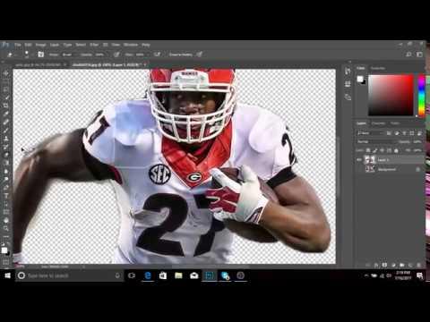 Nick Chubb SpeedArt Sports Edit