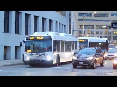 🚍/📹 MTA Maryland: Bus Observations (January 2016) - Part 2/4