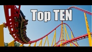 Top 10 Roller Coasters In The World // 2015