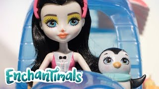 Enchantimals | Penguin - Ice Cream for Two | Cartoons for kids