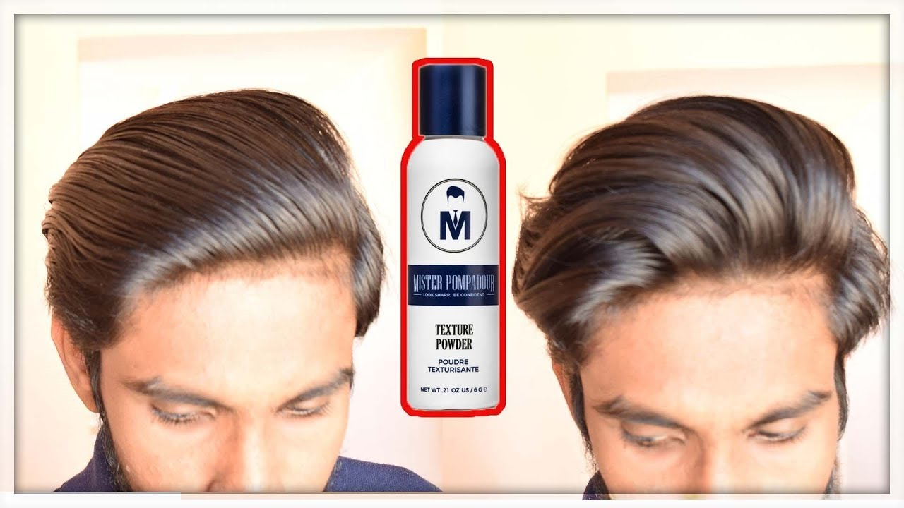What Is Texture Powder For Men Ft Mister Pompadour Texture Powder Therealmenshow Youtube