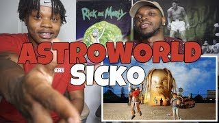 Travis Scott - ASTROWORLD - SICKO - REACTION!!