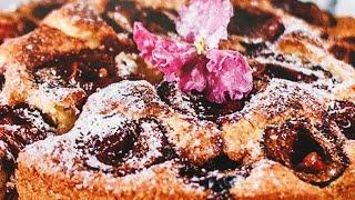 СЛИВОВЫЙ ПИРОГ / Знаменитый пирог из Нью-Йорка / РЕЦЕПТ