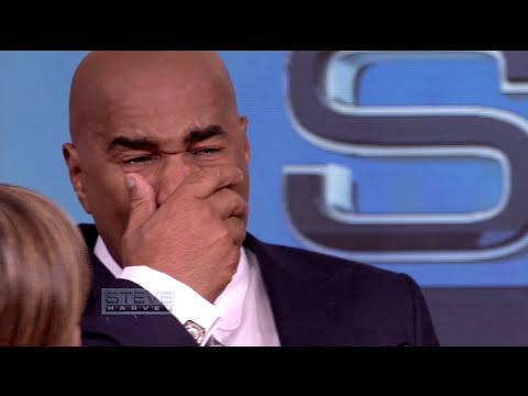 Steve Harvey Breaks Down After Seeing His Mama's...