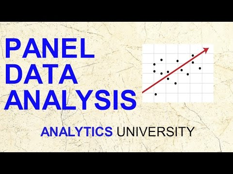 Panel Data Analysis | Econometrics | Fixed effect|Random effect | Time Series | Data Science