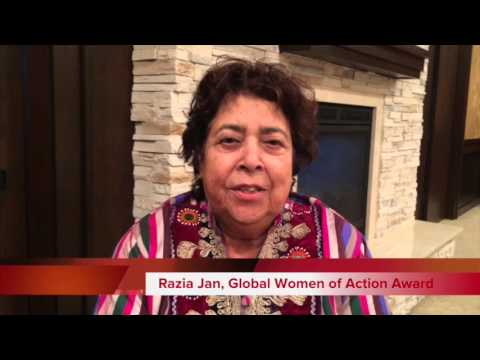 Razia Jan Named Global Woman of Action by Rotary International