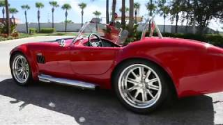 1965 SUPERFORMANCE COBRA MKIII ROADSTER SHELBY REPLICA BY DRIVING EMOTIONS
