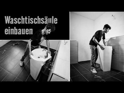 version 2015 waschbecken montieren waschtischs ule einbauen hornbach meisterschmiede youtube. Black Bedroom Furniture Sets. Home Design Ideas