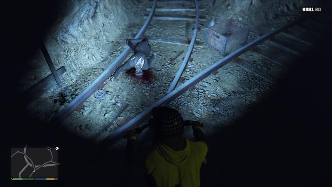 Gta 5 Abandoned Mine Isaac Location Youtube