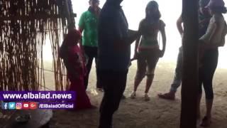 'صدى البلد' يعايش أكبر قبائل البحر الأحمر ومشاركة النساء لأزواجهن.. فيديو وصور