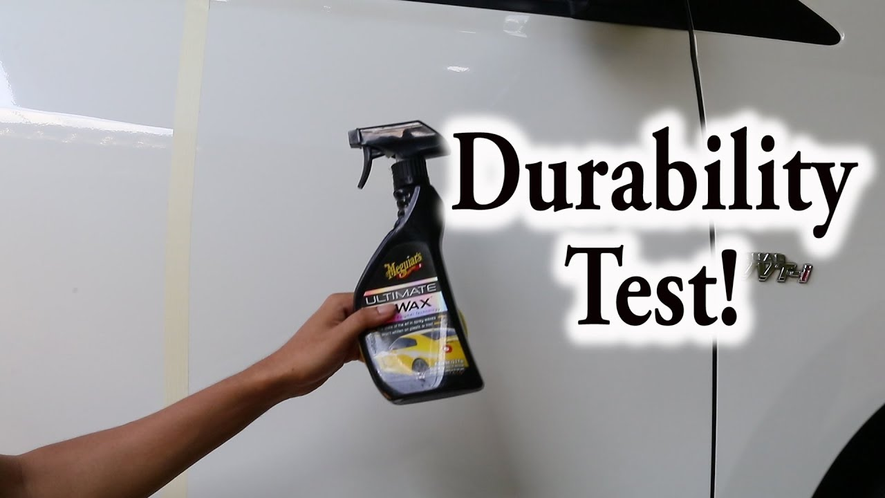 car wax test meguiars ultimate quik wax youtube. Black Bedroom Furniture Sets. Home Design Ideas