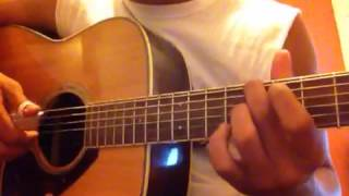 John Butler Trio - Ocean (2012 studio version) tutorial Part 6