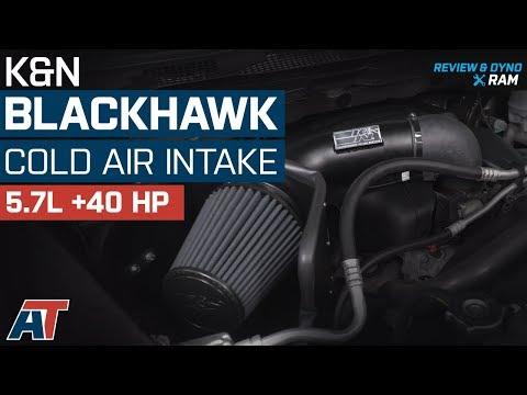 K/&N PERFORMANCE AIR INTAKE KIT FOR 2009-2018 DODGE RAM 5.7L V8 63-1561