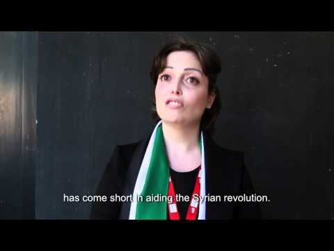 Syrian human rights activist, Suhair Atassi, talks about women's rights
