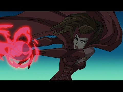 Scarlet Witch - All Scenes Powers | Wolverine and The X-Men