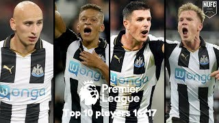 Newcastle United | Top 10 Players 16/17 (17/18 Preview)