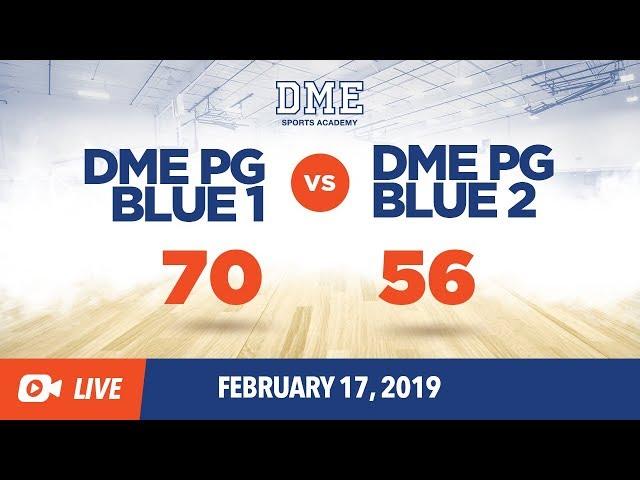 PG Blue 1 vs PG Blue 2