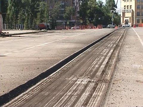 Ремонт двух из четырех скверов на площади Куйбышева практически завершен