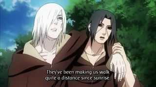 Naruto vs Itachi and Nagato Part 1 English Sub