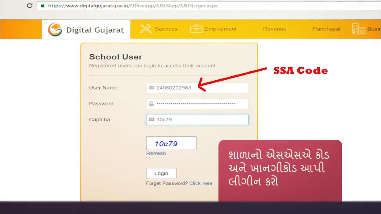 School Scholarship Online Process On Digital Gujarat First Time