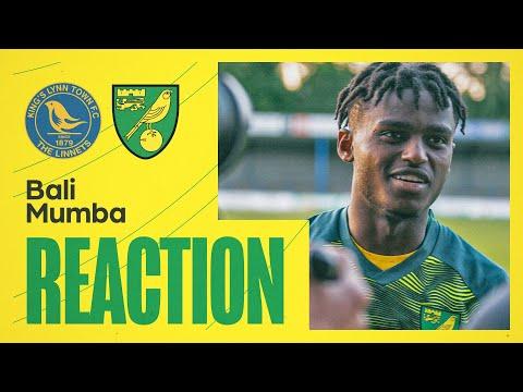 King's Lynn Town 1-3 Norwich City   Bali Mumba Reaction