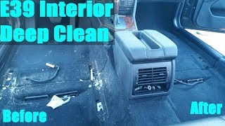 homepage tile video photo for E39 BMW Front Seats Removal and Deep Clean (Part 3 of 4)
