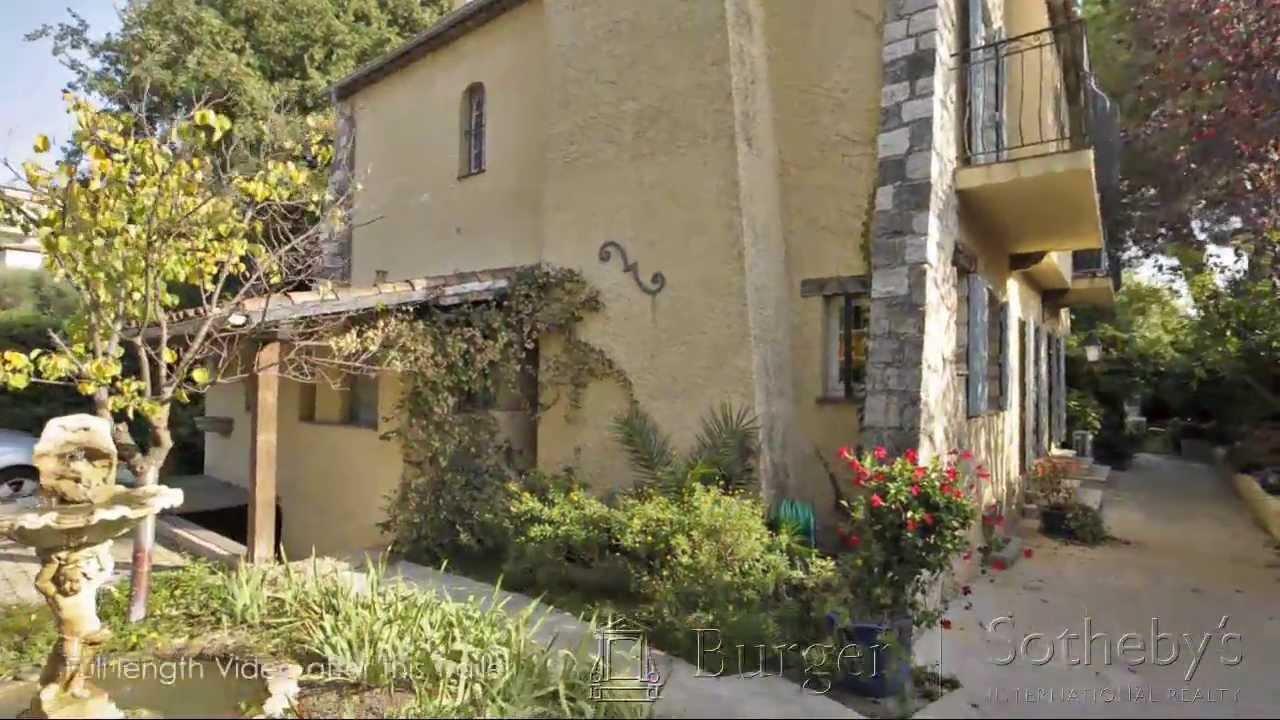 Visite virtuelle d'une villa provençale à cap d'antibes ...