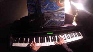 Muse - Blackout (piano cover + lyrics)