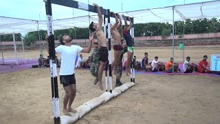 Indian Army Pull Ups / Beam Live Video Army Rally Bharti News 2019 Live Physical Test Video