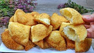 خبز البالون الطري بدون فرن بطعم ولا أروع الخبز المنفوخ #الخبز_المقلى