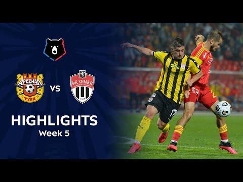 Arsenal Tula Khimki Goals And Highlights