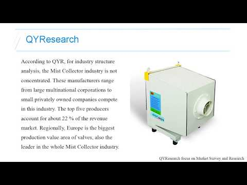 QYResearch Mist Collector Industry Reaches 280 K Units in 2016