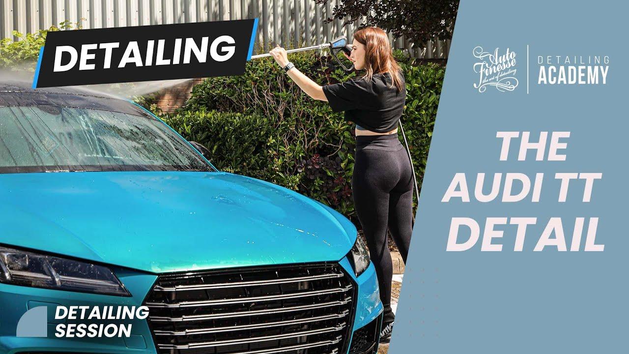 Auto Finesse Detailing Academy - Britney x Audi TT