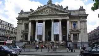 видео Главные достопримечательности Брюсселя - столицы Бельгии и Европейского сообщества