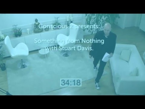 Something from Nothing, a 3-hour live stream with Stuart Davis.
