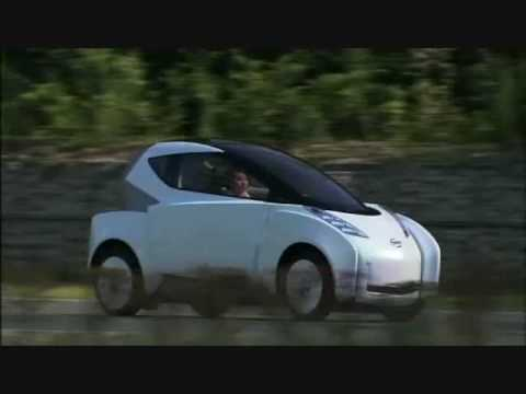 Nissan Land Glider Concept In Motion Youtube