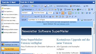 Tutorial: Newsletter Software SuperMailer - personalisierte Serien-E-Mails erstellen