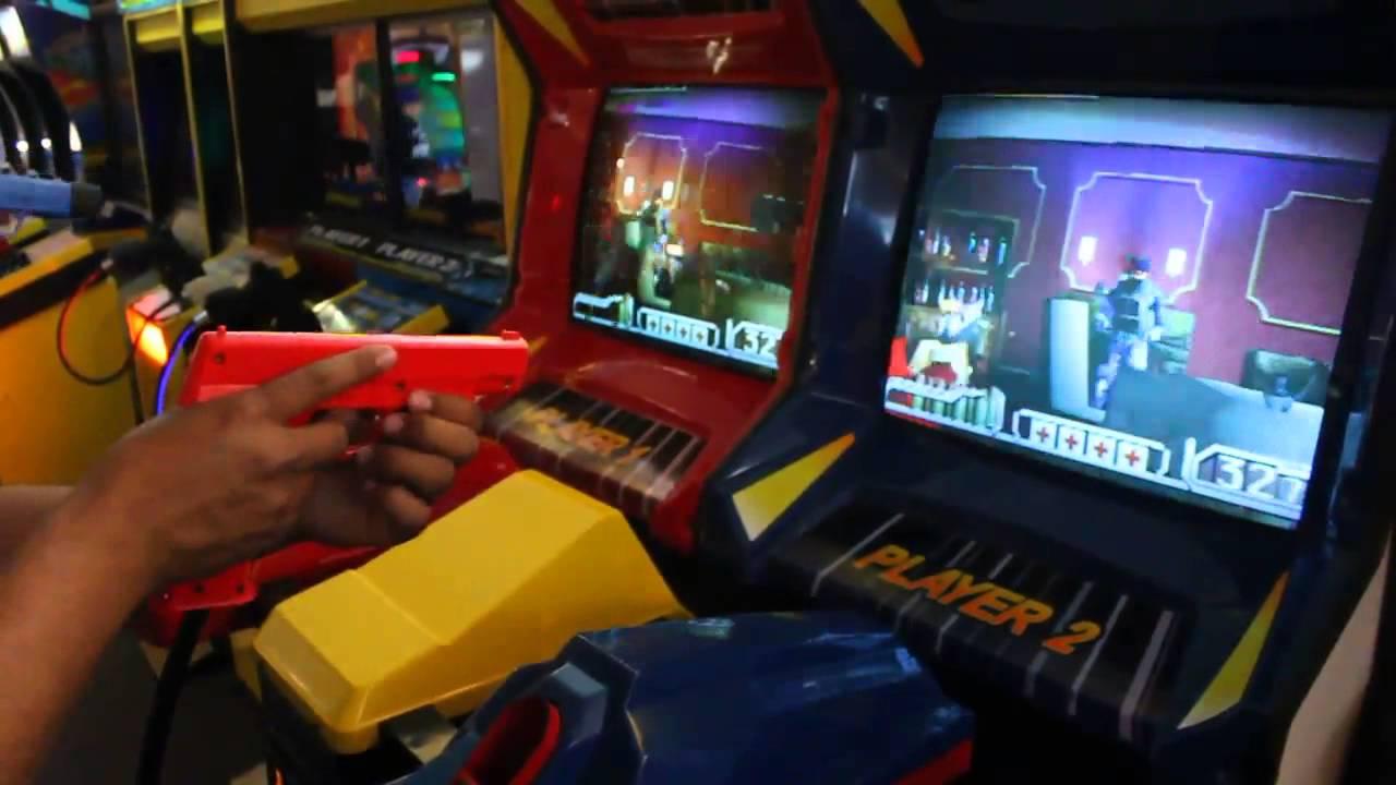 TIME CRISIS II TWIN SHOOTER ARCADE GAME NAMCO - YouTube